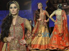 Golden Flared Lehenga