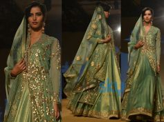 Golden Sea Green Lehenga