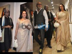 Hema Malini: Dream Girl's Best Sarees White Silk Saree