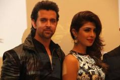 Hrithik Roshan and Priyanka Chopra a Krrish 3 film promotion at Dubai