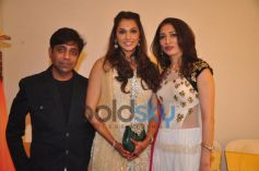Isha Koppikar with Sujata Ahuja and Sanjay Lalwani's Bridal Collection