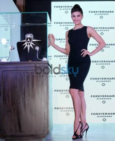 Jacqueline Fernandez displays Foremark jewellery beautiful one of collections