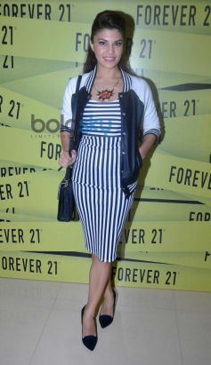 Jacqueline Fernandez launches Forever 21 Event