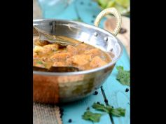 Kalimirch Paneer Recipe Method of preparation