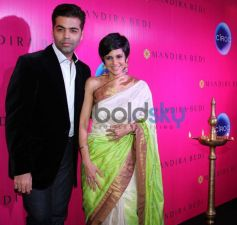 Karan Johar and Mandira Bedi at Event