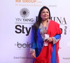 Madhu Chopra (Priyanka Chopras mother)of Studio Aesthetique at the Femina Style Diva Pune at Hyatt P