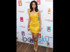 Mallika Sherawat Birthday Special beautiful yellow dress