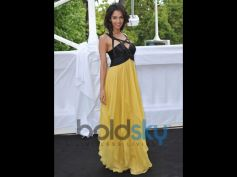 Mallika Sherawat Birthday Special yellow dress