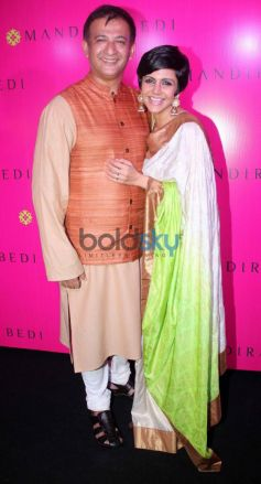 Mandira Bedi launches her new sari store