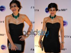 Mandira Bedi At The Le Mill - FarFetch Do
