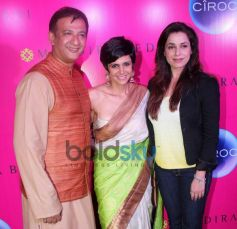 Mandira Bedi with Friends and family