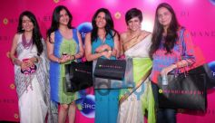 Mandira Bedi with friends at the store launch