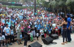 People exited Max Bupa Walk for Health Event