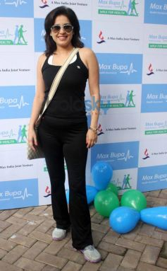 Bollywood Celeb at Max Bupa Walk for Health