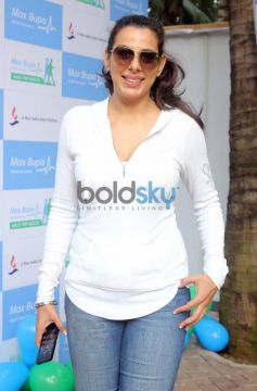 Pooja Bedi at Max Bupa Walk for Health