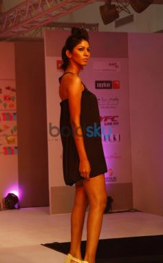 Models walked the ramp at Femina Festive Showcase 2013 at R Mall,.