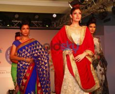 Models walked the ramp at Femina Festive Showcase 2013 at R Mall,..,