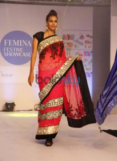 Models walked the ramp at Femina Festive Showcase 2013 at R Mall,.,
