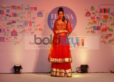 Models walked the ramp at Femina Festive Showcase 2013 at R Mall,.,..