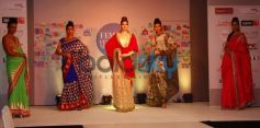Models walked the ramp at Femina Festive Showcase 2013 at R Mall,,.,