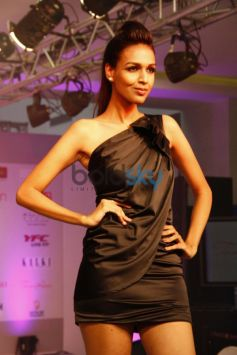 Models walked  the ramp at Femina Festive Showcase 2013 at R Mall,,