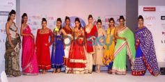 Models walked the ramp at Femina Festive Showcase 2013