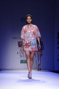 Nachiket Barve Day 1 WIFW SS 2014 ramping models