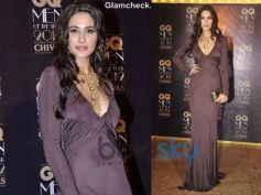 Nargis Fakhri in Silk Gown