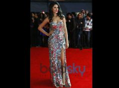 Nargis Fakhri in Silver Gown