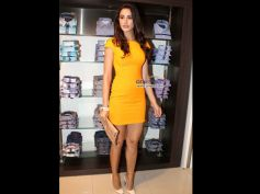 Nargis Fakhri in Yellow Dress