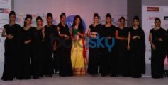 Navneet Dhillon (Femina Miss India) walked the ramp at the Femina Festive Showcase 2013 at R Mall..,
