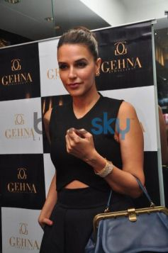 Neha Dhupia at Gehna Jewellers launch Event