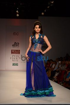 Niket & Jainee Collection beautiful blue outfit looking stunning
