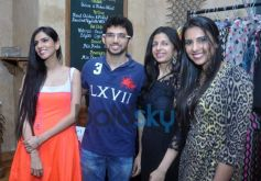 Nishika lulla and Avantika daing launch squarekey show day