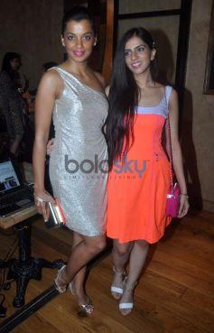 Nishika lulla and Avantika daing launches squarekey mugdha godse posing