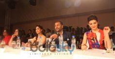 Panellists at the Femina Style Diva Pune at Hyatt Pune