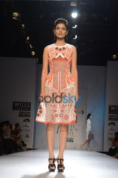 Pankaj & Nidhi Designer Collection Day2 WIFW new costumes