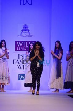 Pratima Pandey thanking audition at the show