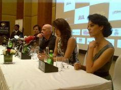 Press meet at Krrish 3 film promotion at Dubai