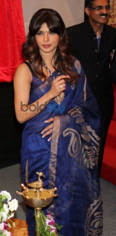 Priyanka Chopra being silent at Healthcare Global Enterprises Cancer Centre Events