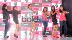 Priyanka Chopra dancing with fans at Success of Exotic Events