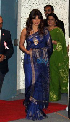 Priyanka Chopra entering at Healthcare Global Enterprises Cancer Centre Events