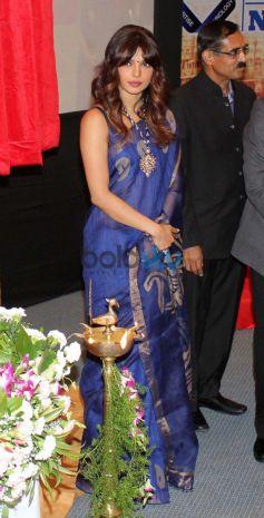 Priyanka Chopra at Healthcare Global Enterprises Cancer Center