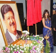 Priyanka Chopra at Healthcare Global Enterprises Cancer Centre inauguration