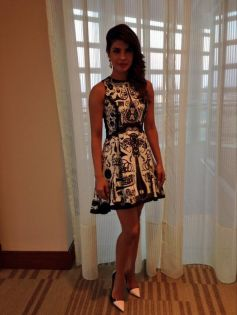 Priyanka Chopra  at Krrish 3 film promotion at Dubai