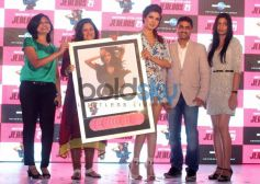Priyanka Chopra unveiling album cover of Exotic at Event