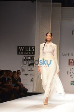 Rahul Mishra Collection Day2 WIFW ramp walk