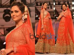 Red and Golden Lehenga