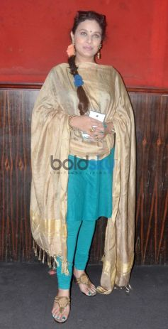 Sharbani Mukherjee during the 15th Mumbai Film Festival