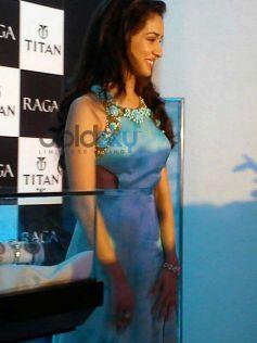 Shardha Kapoor in beatiful dress at Sonakshi Raj at Titan Ragas new collection launch